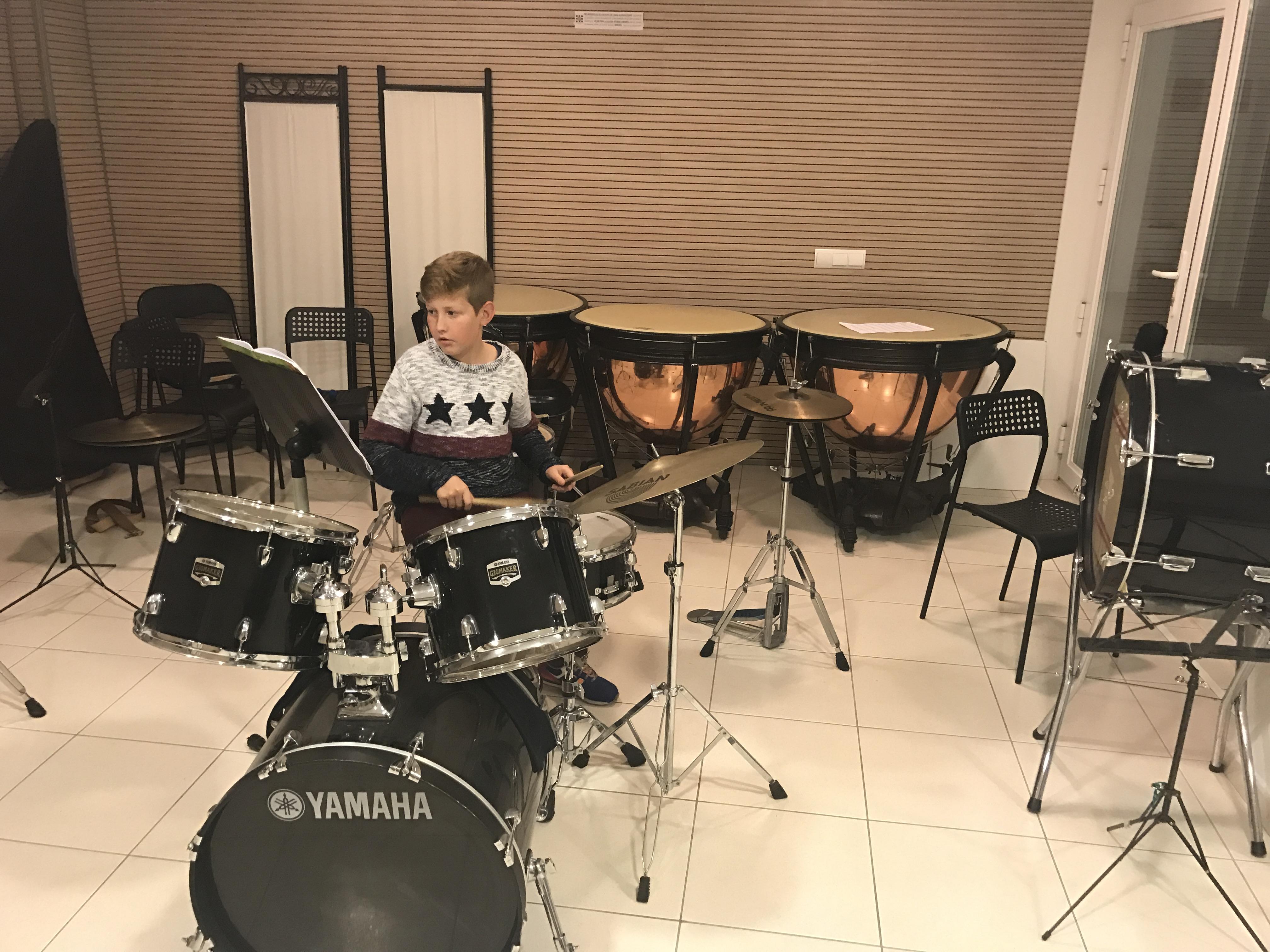 Aula de percussió